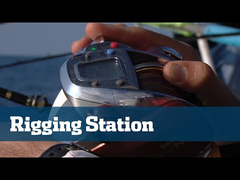 Florida Sport Fishing TV - Rigging Station Electric Reels vs. manual reels Deep Drop Tackle Debate