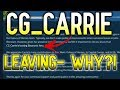 CG Carrie is Leaving SWGoH: Was She FIRED?!  | Star Wars: Galaxy of Heroes