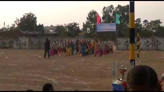 Kv NFC sports day celebration (bhangara dance)