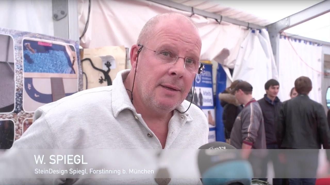 Steindesign Spiegl kundenstimmen zur gewerbemesse manching steindesign spiegl