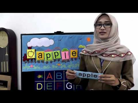 How To Use Educational Display Tool Early Age Education Stringing Letters