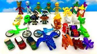 Najfajniejsze zabawki z Kindej Joy i Jajko Niespodzianka  huevo sorpresa Bi Bi TV Super Bajki