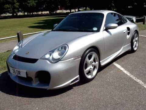 porsche 911 996 turbo with gt2 body kit youtube. Black Bedroom Furniture Sets. Home Design Ideas