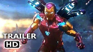 AVENGERS ENDGAME Final Trailer (2019) Marvel Movie HD