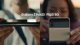 Galaxy Z Fold3   Flip3 5G Official Film: Unfold your world   Samsung