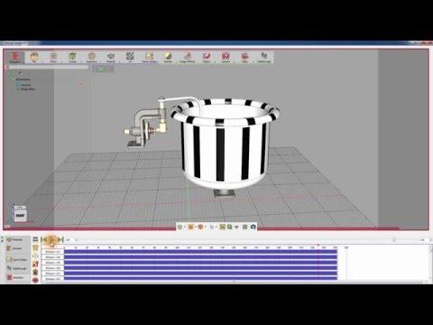 SimLab Composer: Simulation Tutorial