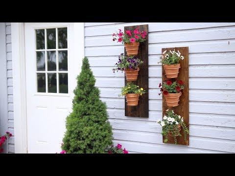 Copper Wire Wall Planter 🌿🌸🔨// Garden Answer