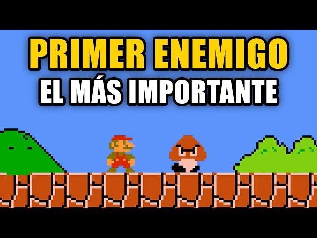 La importancia del PRIMER ENEMIGO en un videojuego