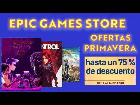 Ofertas De Primavera En Juegos De Epic Games Store ¡Date Prisa!