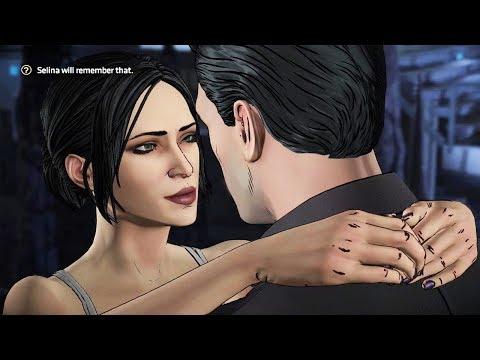 Batman and Catwoman All Romance Scenes - Batman Telltale Season 2 Episode 3 Bruce & Selina Scenes