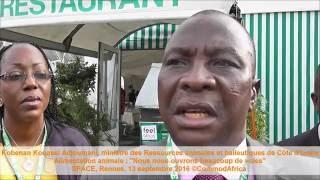 Kobenan Kouassi Adjoumani, ministre des Ressources animales et halieutiques de Côte d'Ivoire