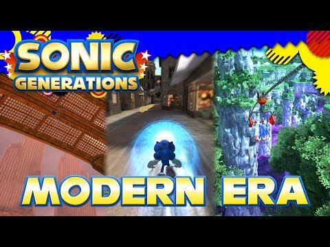 Sonic Generations - Modern Era