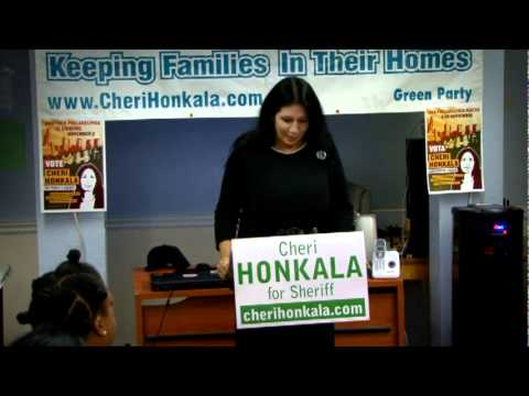 Press Conference with the National Organization for Women and Cheri Honkala