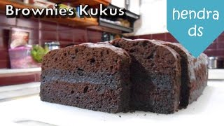 Brownies Kukus - Resep Brownies Kukus (Brownies Kukus Mantap)