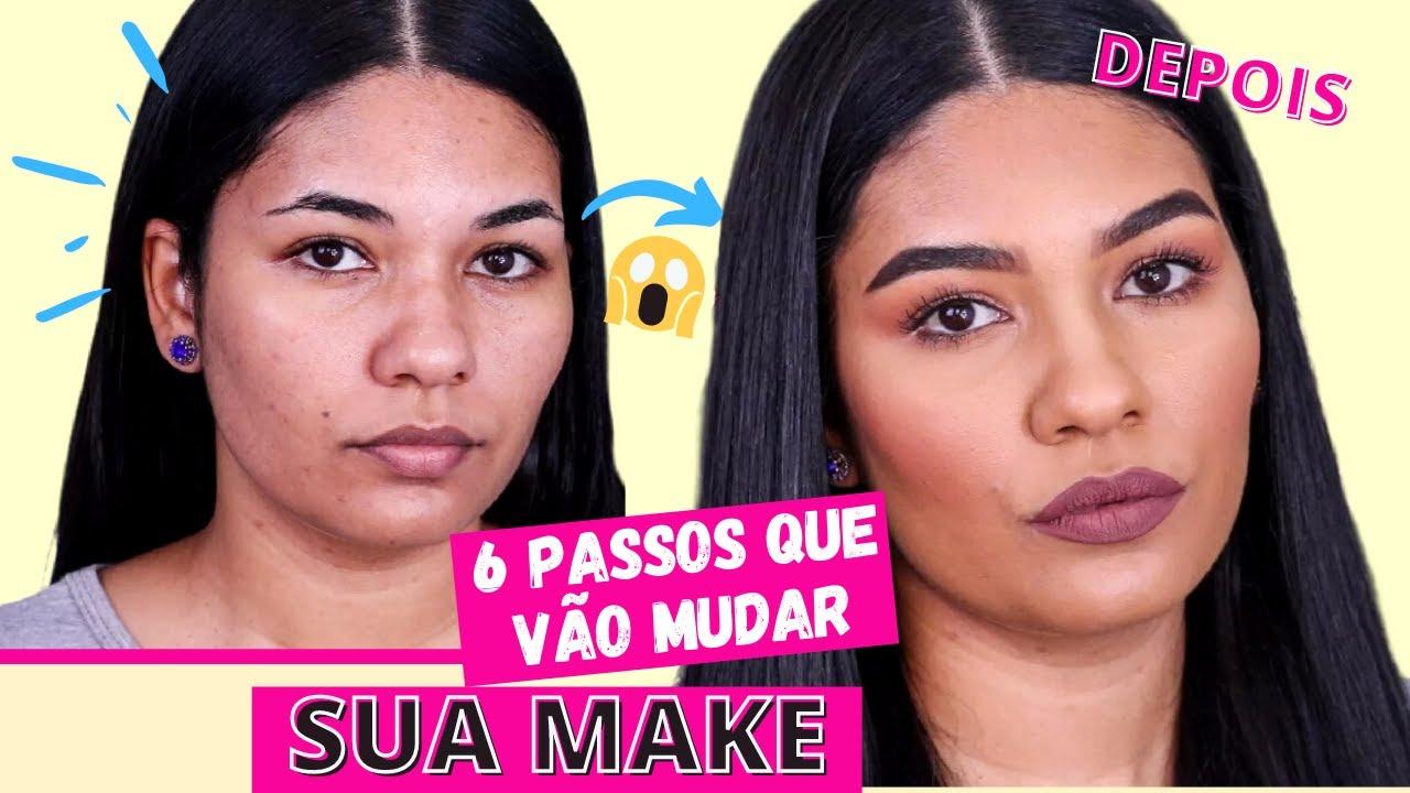 Maquiagem para iniciantes - 6 passos que irão mudar a sua make!