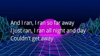 A Flock of Seagulls-- I Ran(lyrics on screen)