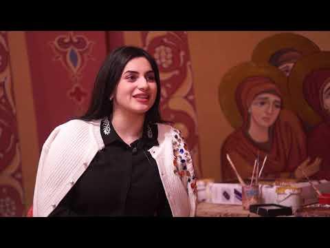 Eva Greg - фрески в Армянской Апостольской Церкви г.Саратов