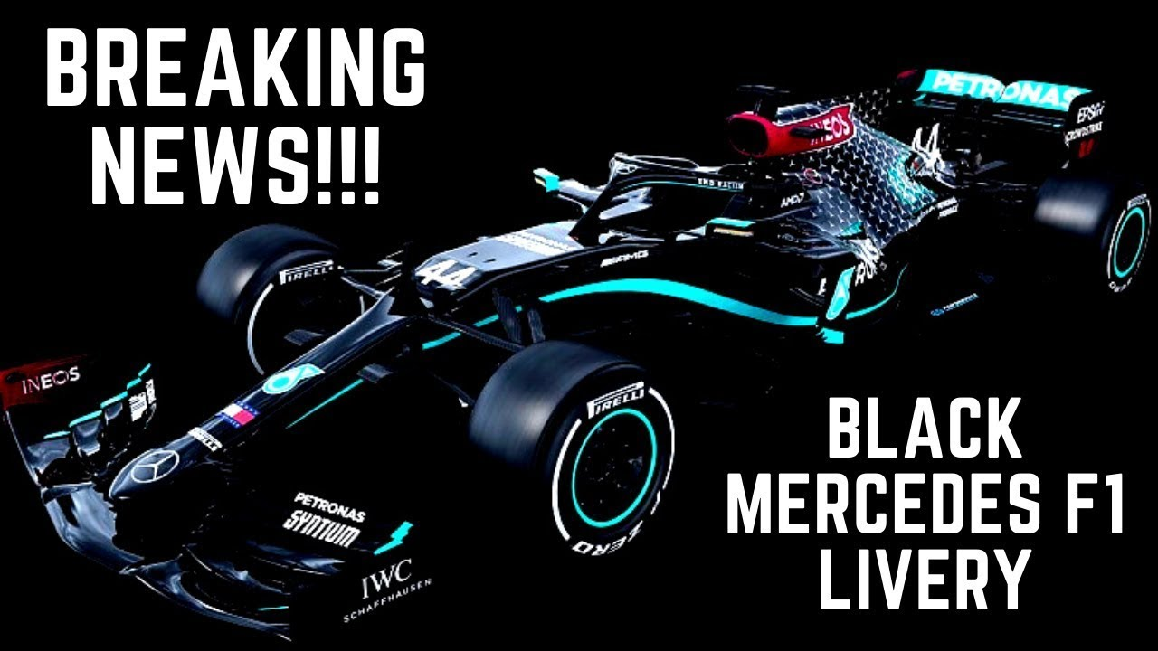 F1 2020 || Formula One 2020 || Mercedes ALL-BLACK Livery ...