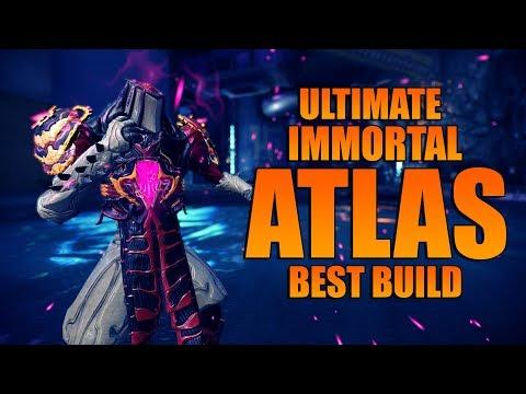 [WARFRAME] Ultimate Immortal ATLAS [Best Atlas Build] thumbnail