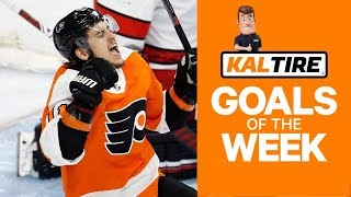 NHL Goals of the Week: Travis Konecny Turns Knights Inside Out