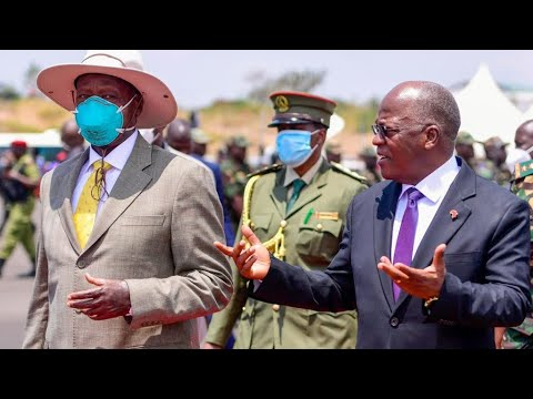 MAGUFULI's LIFE & TIMES AS A COVID DENIER - WHY MUSEVENI WORE AN N95 FACE MASK LAST TIME HE MET HIM.