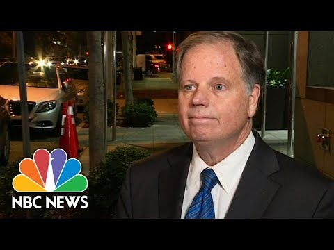 Roy Moore's Opponent Doug Jones Focused On Alabama Issues | NBC News Doug Jones says he's not letting