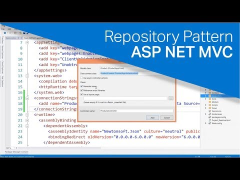 How to Implement the Repository Pattern in an ASP NET MVC Application
