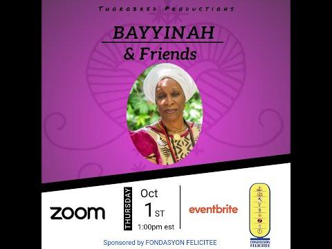 Bayyinah Bello & Friends Webinar Series | 1 Oct 2021