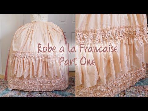 Making a Robe à la Française : Part One