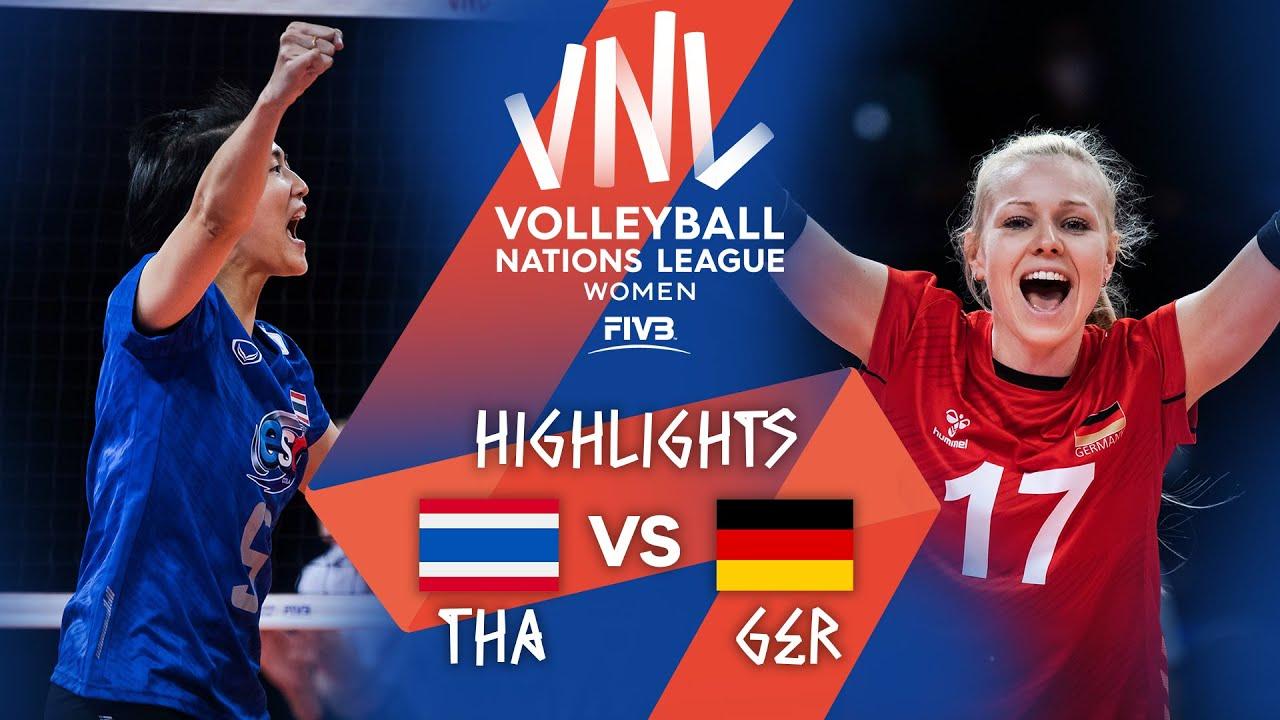 Download THA vs. GER - Highlights Week 4   Women's VNL 2021