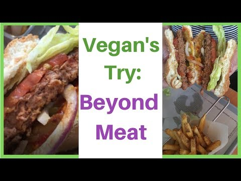 Vegan's Try-Beyond Meat Breakfast Sandwich + Beyond Meat Burger-A and W Canada