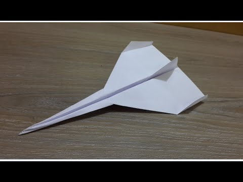 How to make a Paper Airplane - BEST Paper Plane in the World