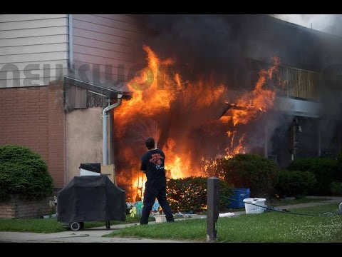 2nd Alarm Fire; 117 N. Ruch St., Coplay, PA | 06.11.15