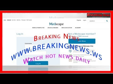 Medscape Log In - YouTube