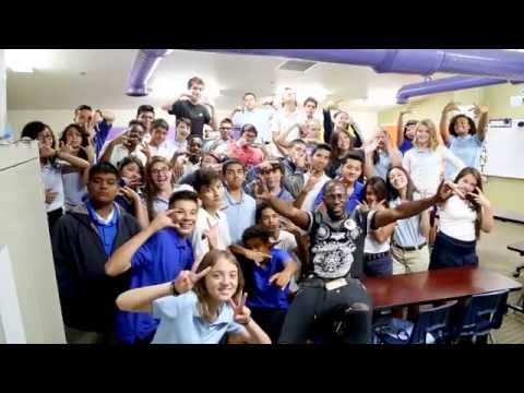 Young Onassis Speaks at Camelback Academy 2016