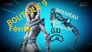 Fortnite: February 9th Shop, NEW SKIN Kuno'ichi