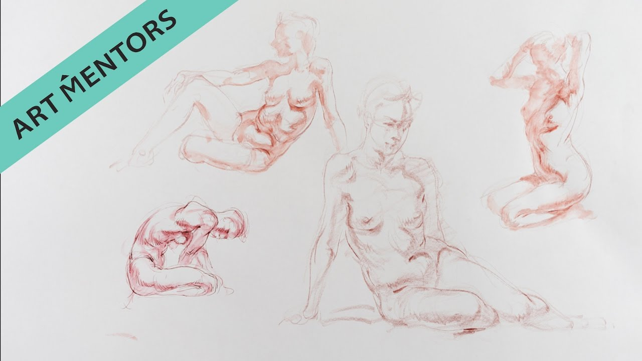 Learn Figure Drawing Step-By-Step with Glenn Vilppu - YouTube