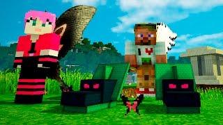 Опасные битвы в Minecraft 118 - Босс Гидра