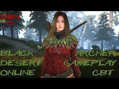Black desert online beta cbt archer gameplay 35 - Archer episodes youtube ...