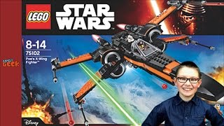 [LEGO STAR WARS] Poe's X-Wing Fighter Set 75102 - Family Geek Unboxing Jouet Lego