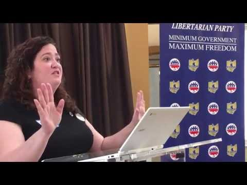 Andrea Byron updates the LPO on Gary Johnson's presidential campaign - Aug. 13, 2016