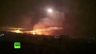 Взрывы на складе боеприпасов в Балаклее