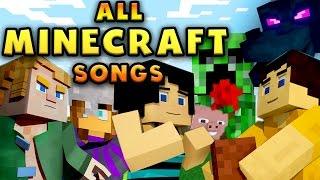 Repeat youtube video MINECRAFT SONGS (TryHardNinja)