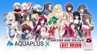 『DEAD OR ALIVE 5 Last Round』『アクアプラス』コラボレーションコスチューム紹介ムービー thumbnail