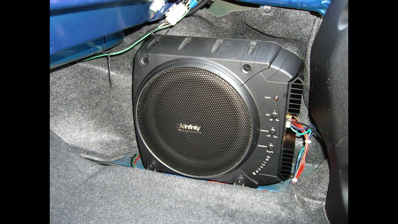 infinity basslink all in one subwoofer system part 1