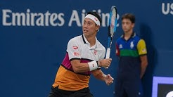 Bradley Klahn vs. Kei Nishikori | US Open 2019 R2 Highlights