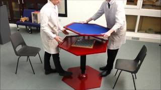 Hexable - Hexagonal Table