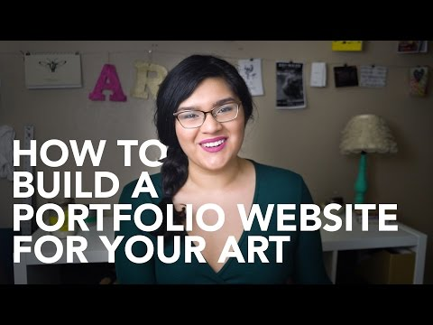 Creating a Portfolio Website: What Artists Need to Know to Get Started
