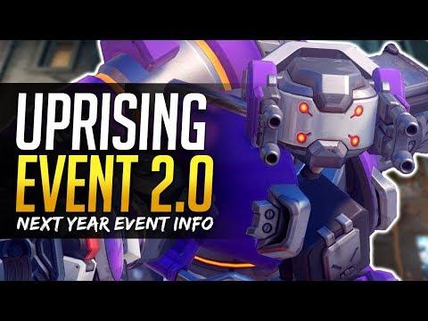 Overwatch UPRISING EVENT 2.0 - Lunar New Year & 2nd Anniversary