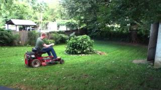 'ginger-snapper' Rear-engine Riding Mower